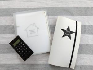 うり家計簿シンプルノート