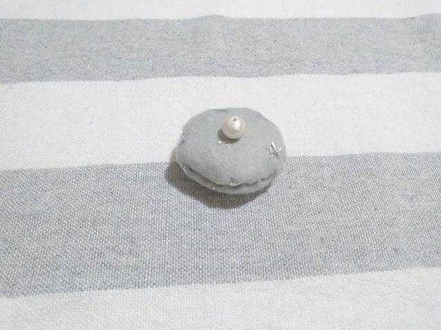 しろくま貯金箱のマフラー&ベレー帽の作り方