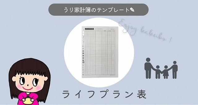 ライフプラン表